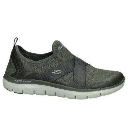 Grijze Skechers Slip-on Sneakers