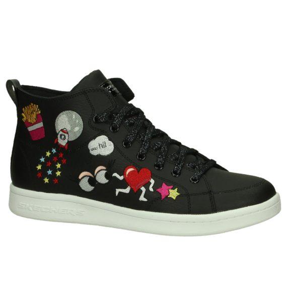 Zwarte Hoge Sneakers Skechers