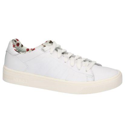 Witte K-Swiss Court Frasco Liberty Sneakers