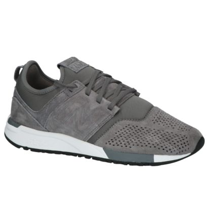 Grijze New Balance MRL247 Lage Sneakers