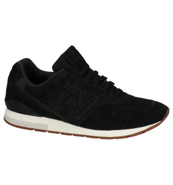 Zwarte New Balance Lage Sneakers