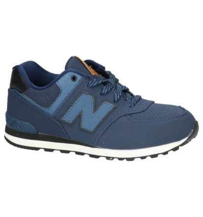 Lage Sneaker Donker Blauw New Balance KL574