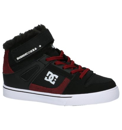 DC Shoes Spartan High Zwarte Skateschoenen
