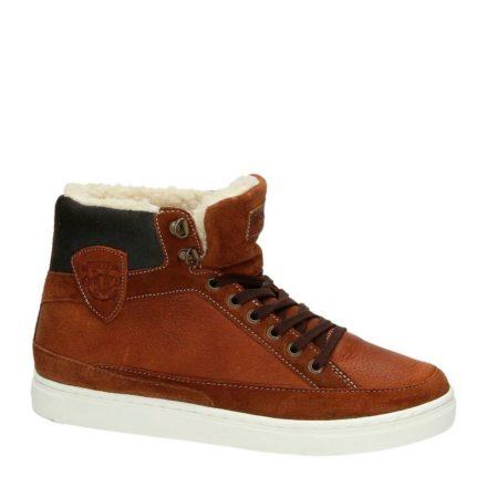 McGregor leren sneakers (bruin)