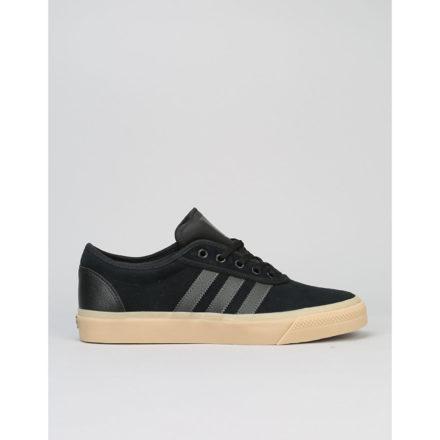 Adidas Adi-Ease Skate Shoes - Core Black/DGH Solid Grey/Gum (UK 8)