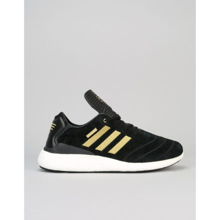 Adidas Busenitz Pure Boost 10 Yr Anniversary Skate Shoes - BLK/GLD/WHI (UK 8)