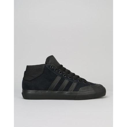 Adidas Matchcourt Mid ADV Skate Shoes - Core Black/Core Black (UK 7)