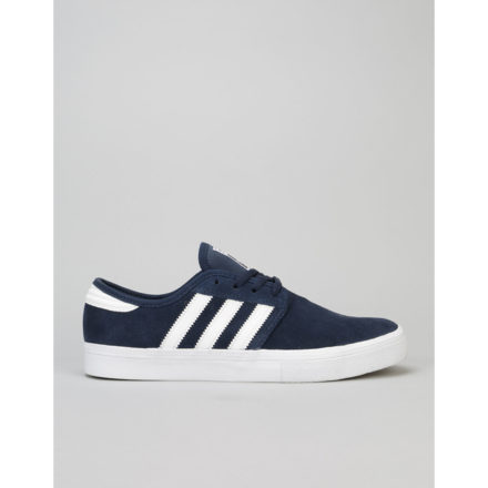 Adidas Seeley ADV Skate Shoes (blauw/wit)