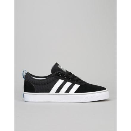 Adidas Adi-Ease Skate Shoes - Core Black/White/Solid Grey (UK 7)