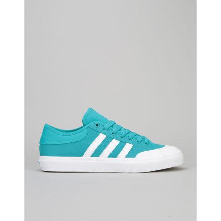 Adidas Matchcourt Skate Shoes - Energy Blue/White/Gum (UK 7)