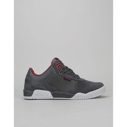 Supra Ellington Skate Shoes (zwart/rood/grijs)