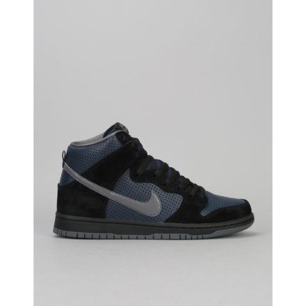 Nike SB Dunk High 'Gino' QS Skate Shoes - Black/Lt Graphite-Obsidian (UK 7)