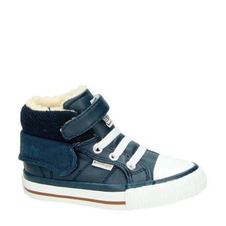 British Knights leren sneakers jongens (blauw)