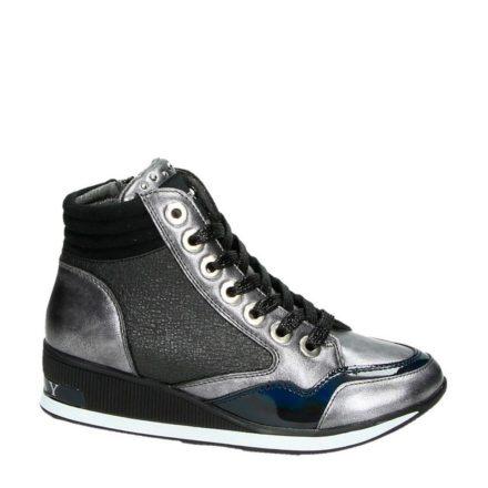 REPLAY hoge sneakers meisjes (grijs)