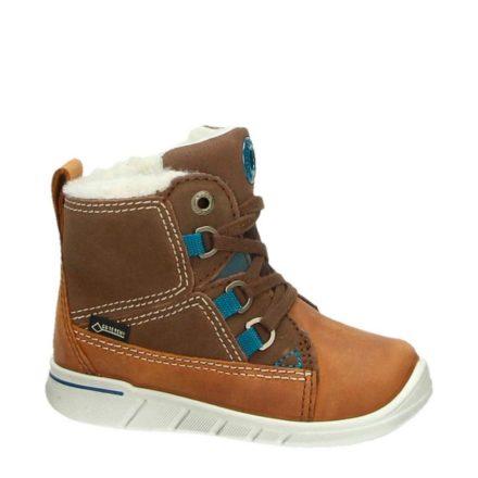 Ecco leren sneakers jongens (bruin)