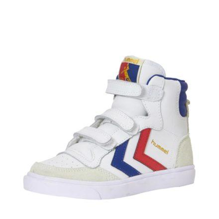Hummel Stadil leren sneakers kids (wit)