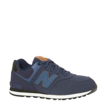 New Balance 574 sneakers meisjes (blauw)