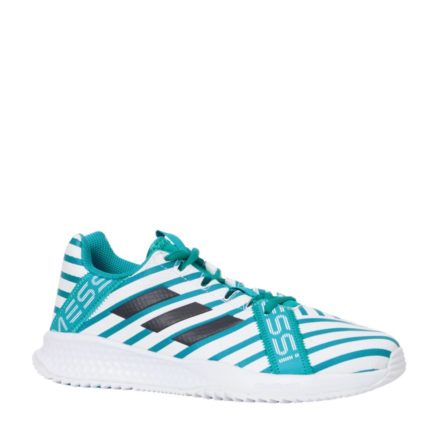 adidas performance rapidaturf Messi K sneakers jongens (wit)