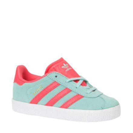 adidas originals Gazelle sneakers meisjes (blauw)
