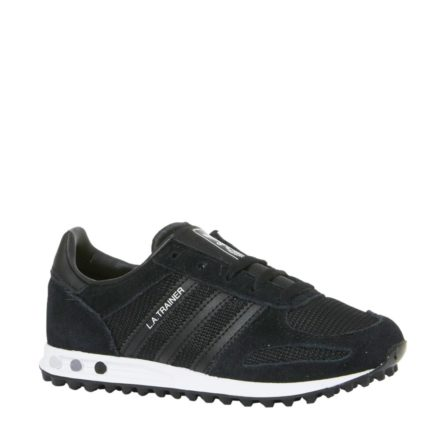 adidas originals LA Trainer sneakers kids (zwart)