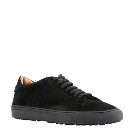 Giuseppe Maurizio suède sneakers (zwart)
