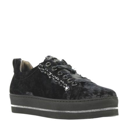 Maripe platform sneakers (zwart)