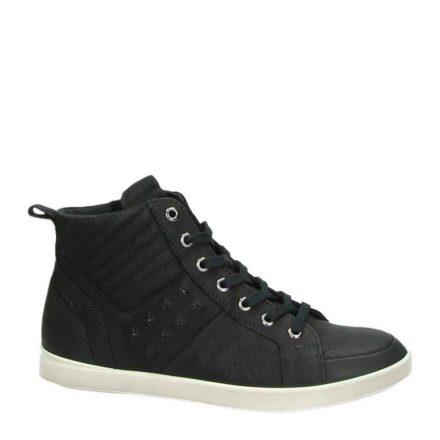 Ecco Aimee nubuck sneakers (zwart)
