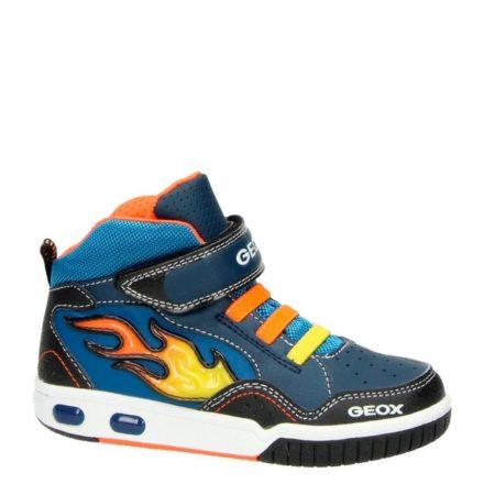Geox sneakers met lichtjes jongens (blauw)