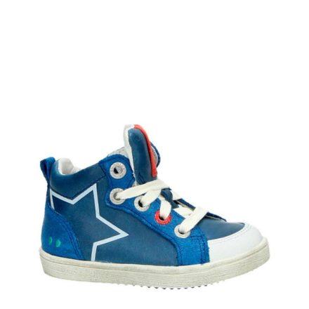 Bunnies leren sneakers jongens (blauw)