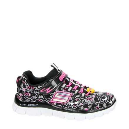 Skechers sneakers meisjes (zwart)