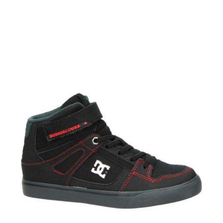 DC Spartan Hi SE EV sneakers jongens (zwart)