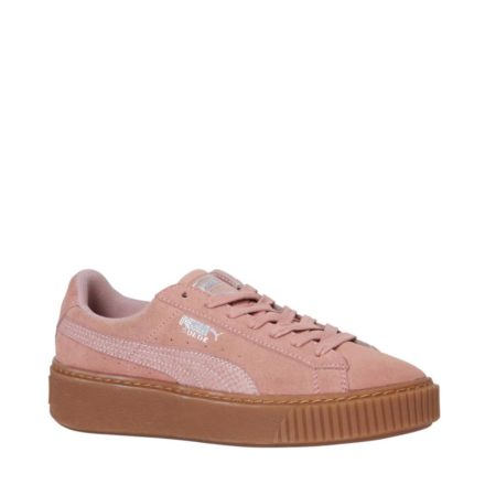 Puma Suede platform sneakers (oranje)
