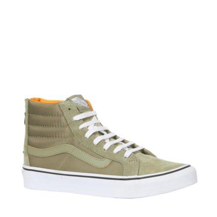 VANS SK8-Hi Slim Zip sneakers (groen)