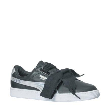 Puma Basket Heart Explosive sneakers (zwart)