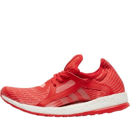 Adidas Dames Pure Boost X Olympic Ltd Edition Neutral Hardloopschoenen Rood