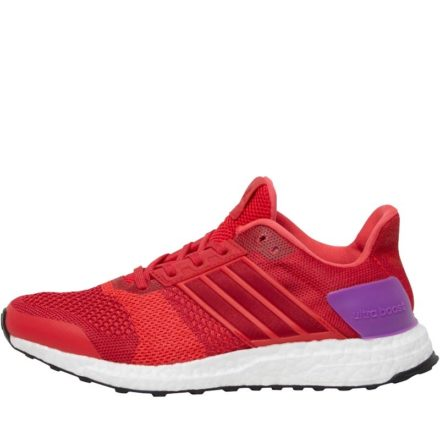 Adidas Dames Ultra Boost ST Stabiliteit Hardloopschoenen Rood