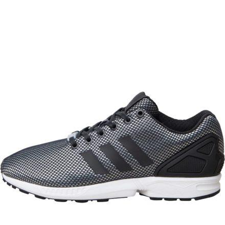 Adidas Originals Heren ZX Flux Sneakers Zilvergrijs
