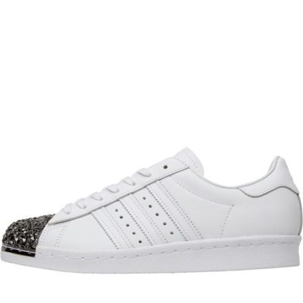 Adidas Originals Dames Superstar 80s Metal Toe Sneakers Wit