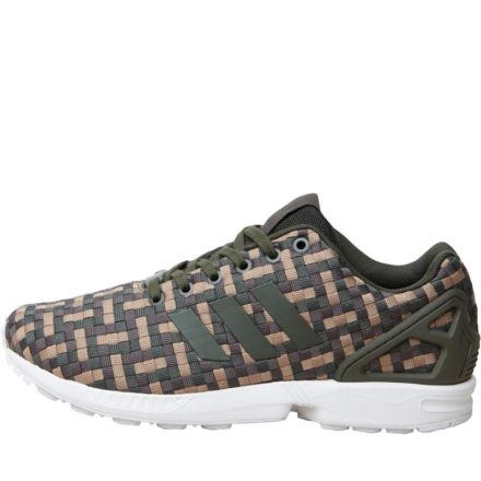 Adidas Originals Heren ZX Flux Sneakers Groen