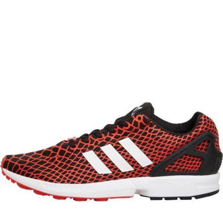 Adidas Originals Heren ZX Flux TechFit Sneakers Zwart