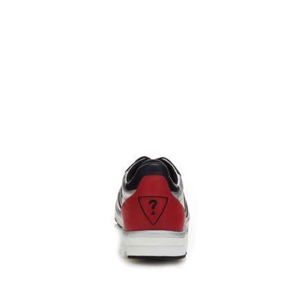 RUNNER GRANT sneakers van leer met inzetten