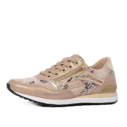 s.Oliver 23635 slangenprint sneakers