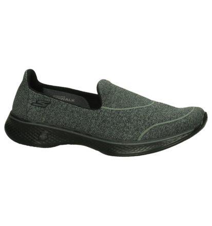 Zwarte Slip-On Sneakers Skechers Memory Foam