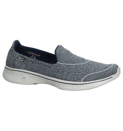 Blauw/Grijs Slip-On Sneakers Skechers Performance
