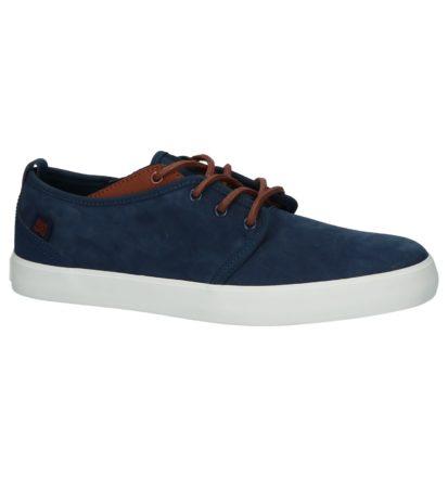 Blauwe DC Shoes Studio Lage Skateschoenen