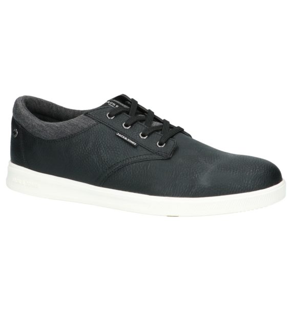 Jack & Jones Gaston Pu Zwarte Veterschoenen