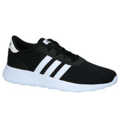 Lage Geklede Sneakers Zwart Adidas Lite Racer