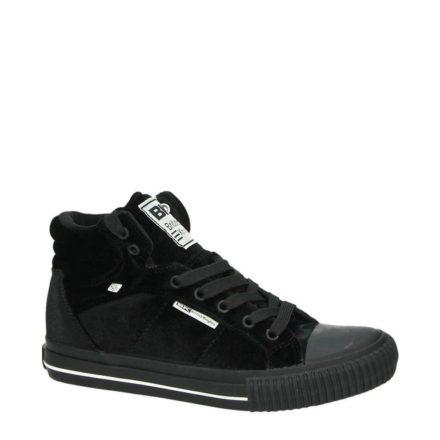 British Knights fluwelen sneakers meisjes (zwart)
