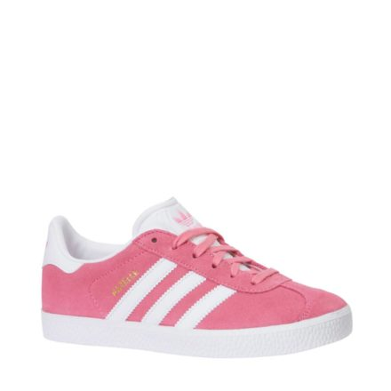 adidas originals Gazelle C sneakers jongens (roze)