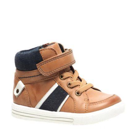 – Stapp leren sneakers jongens (bruin)